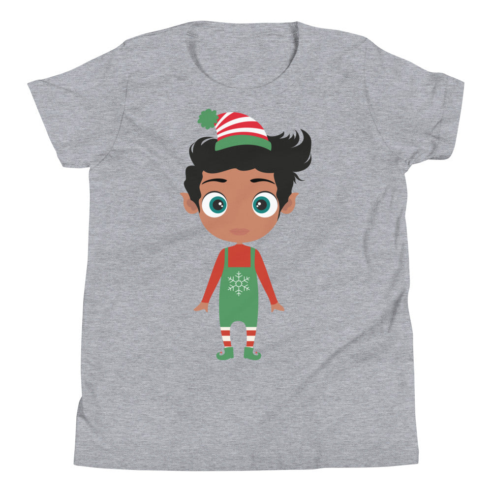 Kritter Christmas Elf Boy Kids T-Shirt - Kritter Haus