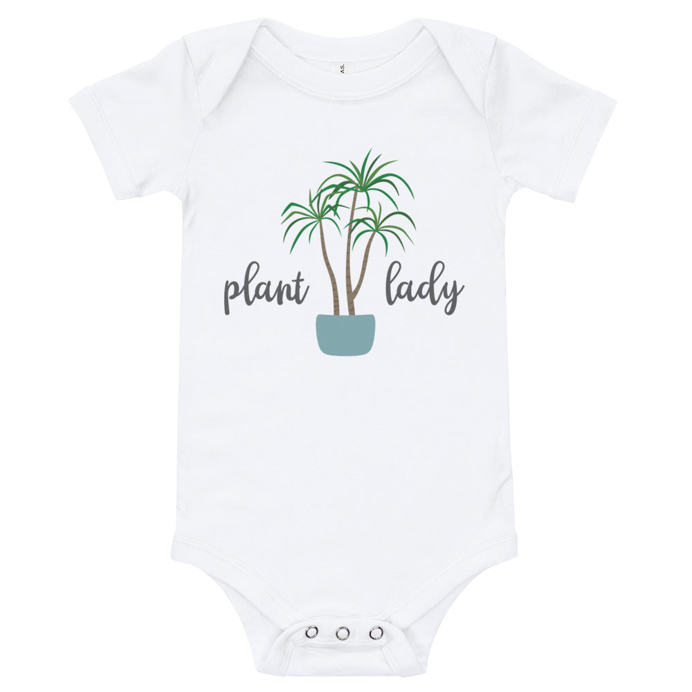 Plant Lady Houseplant Baby Bodysuit - Kritter Haus