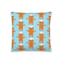 Load image into Gallery viewer, Kritter Christmas Gingerbread Reversible Throw Pillow - Kritter Haus