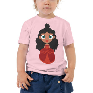 Kritter Christmas Princess Toddler T-shirt