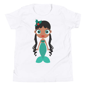Kritter Christmas Mermaid Kids T-shirt - Kritter Haus