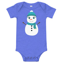 Load image into Gallery viewer, Kritter Christmas Snowman Baby Bodysuit - Kritter Haus