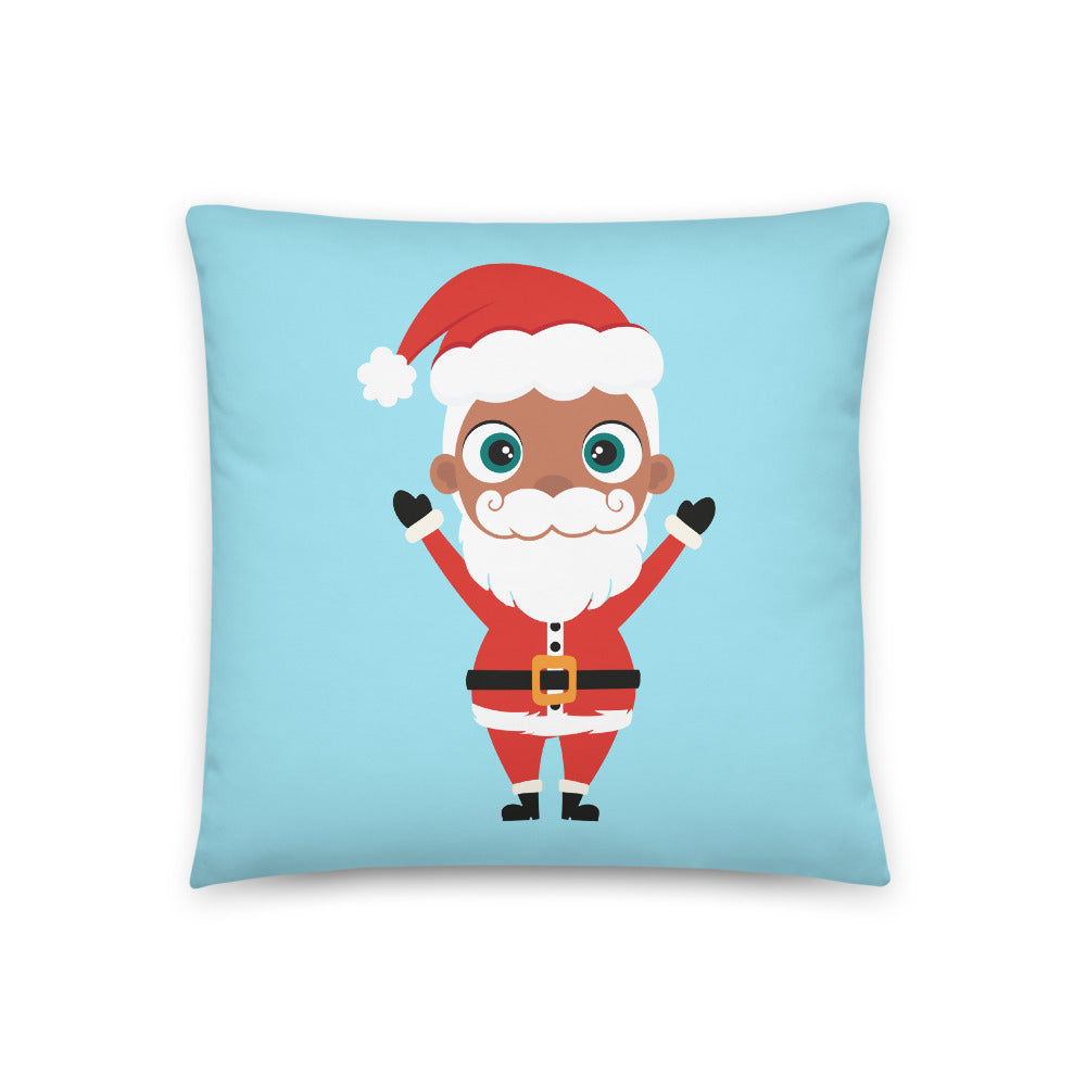 Kritter Christmas Santa Claus Reversible Throw Pillow - Kritter Haus