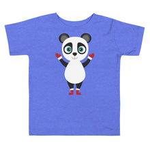Load image into Gallery viewer, Kritter Christmas Panda Toddler T-shirt - Kritter Haus