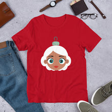 Load image into Gallery viewer, Kritter Christmas Mrs Claus Ornament Adult Unisex T-Shirt - Kritter Haus