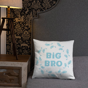 Big Brother Kids Pillow With Insert - Kritter Haus