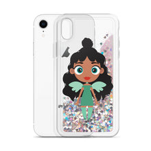 Load image into Gallery viewer, Kritter Christmas Angel Liquid Glitter Phone Case - Kritter Haus