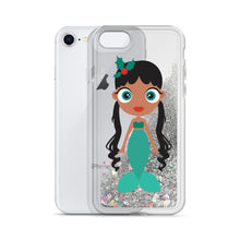 Load image into Gallery viewer, Kritter Christmas Mermaid Liquid Glitter Phone Case - Kritter Haus