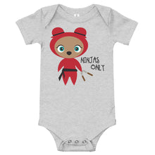 Load image into Gallery viewer, Red Ninja Kritter Baby Bodysuit - Kritter Haus