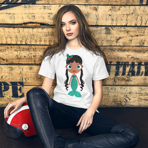 Kritter Christmas Mermaid Adult T-Shirt - Kritter Haus