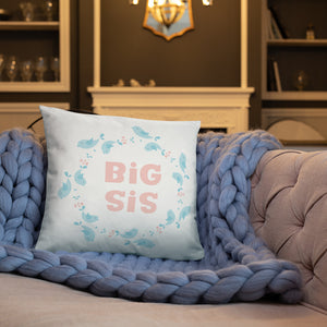 Big Sis Kids Pillow With Insert - Kritter Haus