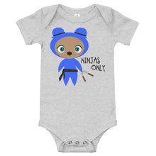 Load image into Gallery viewer, Blue Ninjas Only Kritter Baby Bodysuit