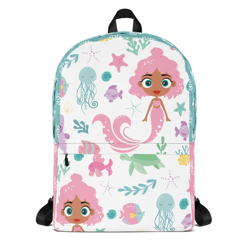 Kritter Mermaid Sea Youth Backpack - Kritter Haus