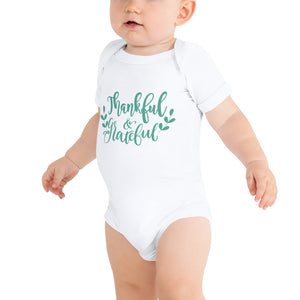 Thankful & Grateful Baby Bodysuit - Kritter Haus