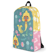 Load image into Gallery viewer, Kritter Mermaid Sea Youth Backpack-Teal - Kritter Haus