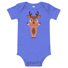 Load image into Gallery viewer, Kritter Christmas Rudolph Reindeer Baby Bodysuit