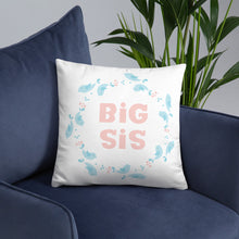 Load image into Gallery viewer, Big Sis Kids Pillow With Insert - Kritter Haus