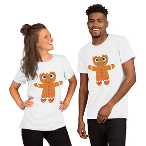 Kritter Christmas Gingerbread Adult Unisex T-Shirt