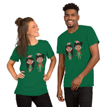 Load image into Gallery viewer, Kritter Christmas Elf Unisex Adult T-Shirt - Kritter Haus