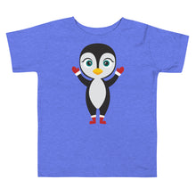 Load image into Gallery viewer, Kritter Christmas Penguin Toddler T-shirt