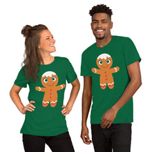 Load image into Gallery viewer, Kritter Christmas Gingerbread Adult Unisex T-Shirt
