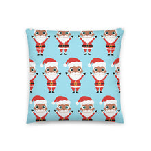 Load image into Gallery viewer, Kritter Christmas Santa Claus Reversible Throw Pillow - Kritter Haus