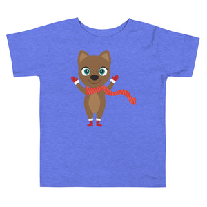 Kritter Christmas Cat Toddler T-shirt - Kritter Haus