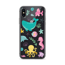 Load image into Gallery viewer, Kritter Mermaid Pattern iPhone Case - Kritter Haus