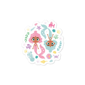 Kritter Mermaid Bubble-free stickers - Kritter Haus