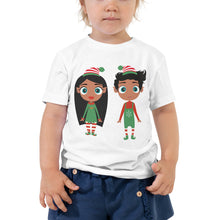 Load image into Gallery viewer, Christmas Elf Toddler Short Sleeve Tee