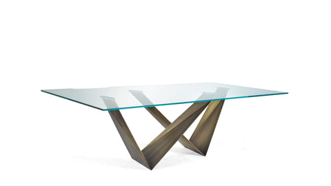 PRISMA 72 STEEL TABLE - Divine Design Center