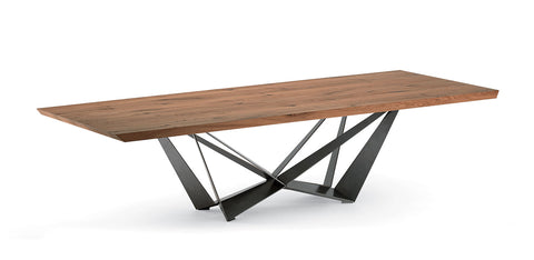 SKORPIO WOOD TABLE - Divine Design Center