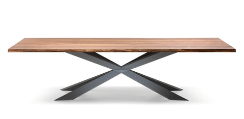 SPYDER WOOD TABLE - Divine Design Center