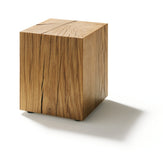 NATURAL WOOD BLOCK COFFEE TABLE - Divine Design Center