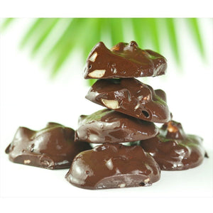 Chocolate Macadamia Nut Clusters - Kona Mountain Coffee