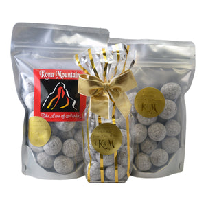 Dark Chocolate Macadamia Nut Wholes - Kona Mountain Coffee