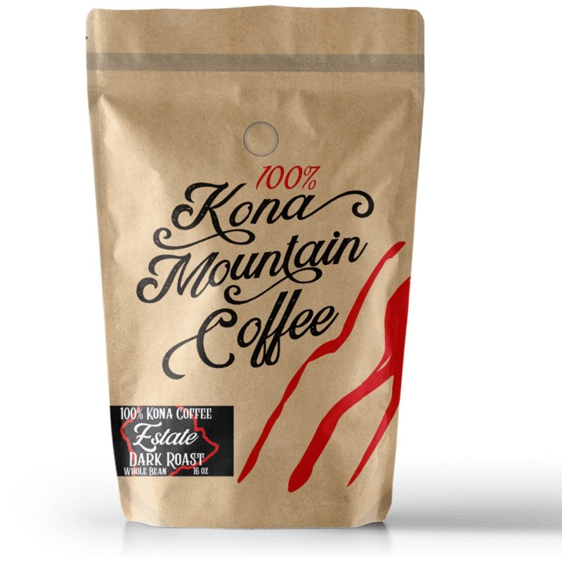 Estate Dark Roast - Kona Mountain Coffee