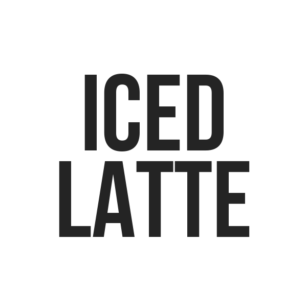 ICED LATTE - Kona Mountain Coffee