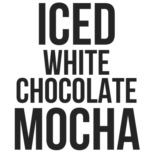 ICED WHITE CHOCOLATE MOCHA - Kona Mountain Coffee