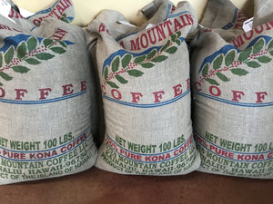 KMC Burlap Bag - Kona Mountain Coffee