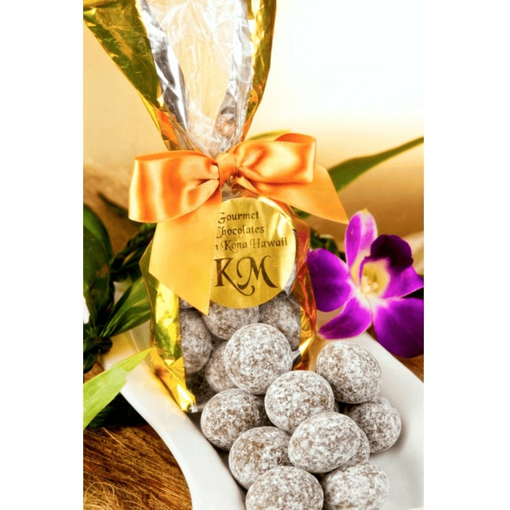 Signature Chocolate Macadamia Nut Wholes - Kona Mountain Coffee