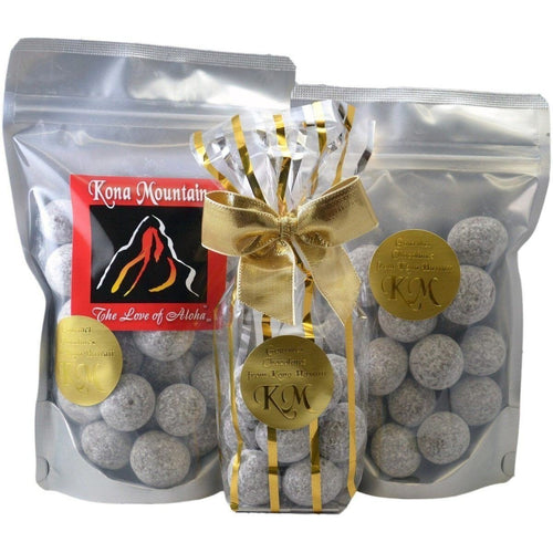 Signature Coffee Chocolate Macadamia Nut Wholes - Kona Mountain Coffee