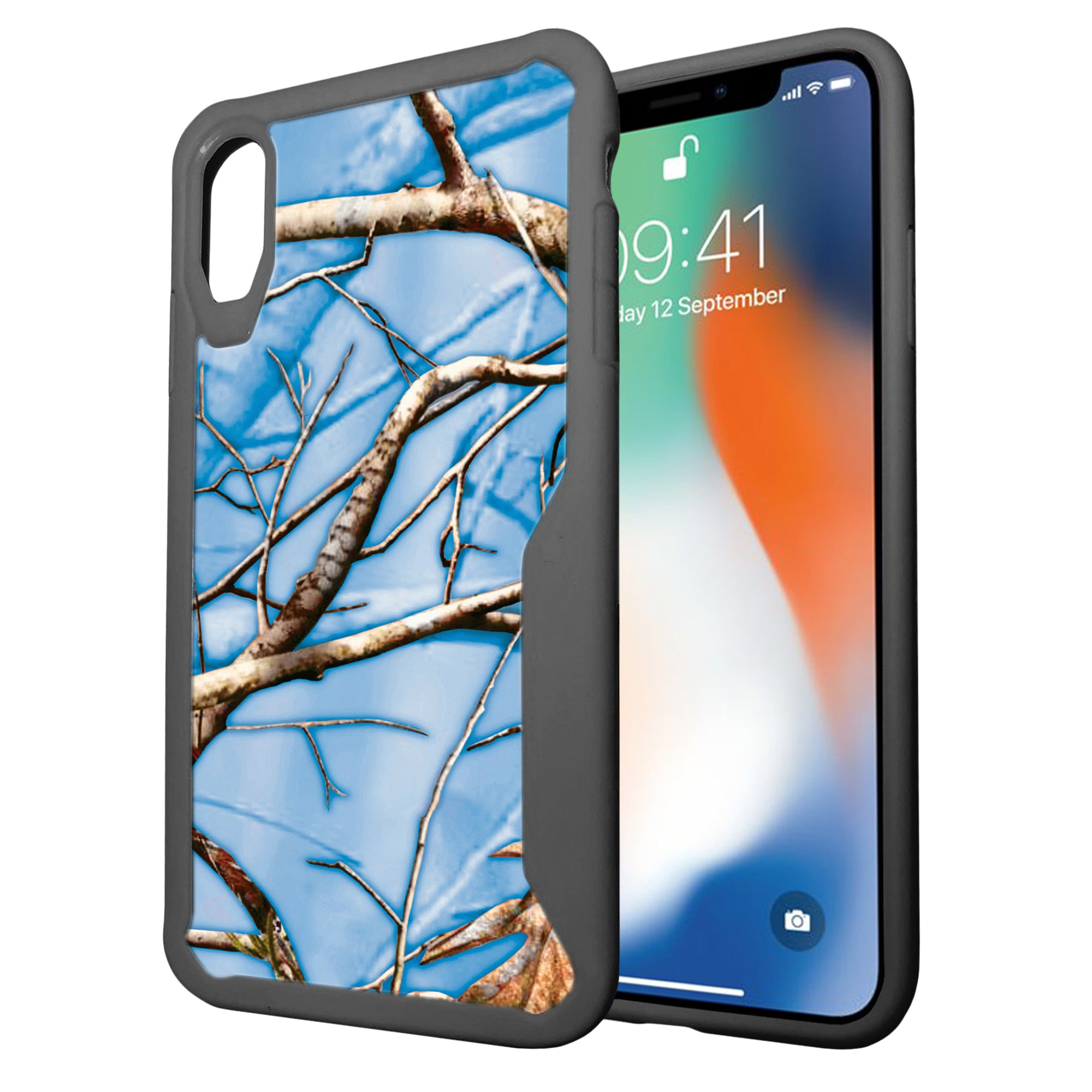 for apple iphone xr 2018 clear case with grey silicone. Black Bedroom Furniture Sets. Home Design Ideas