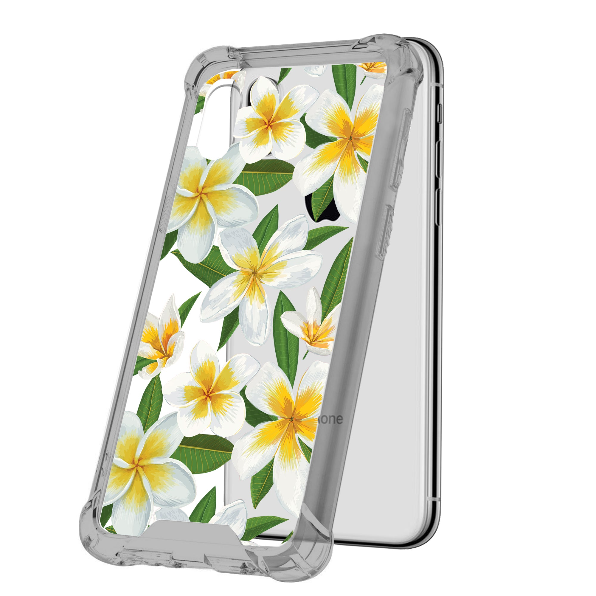 For-Apple-iPhone-Xs-Max-iPhone-Xs-Max-Black-TPU-Bumper-Case-Floral-Designs thumbnail 5