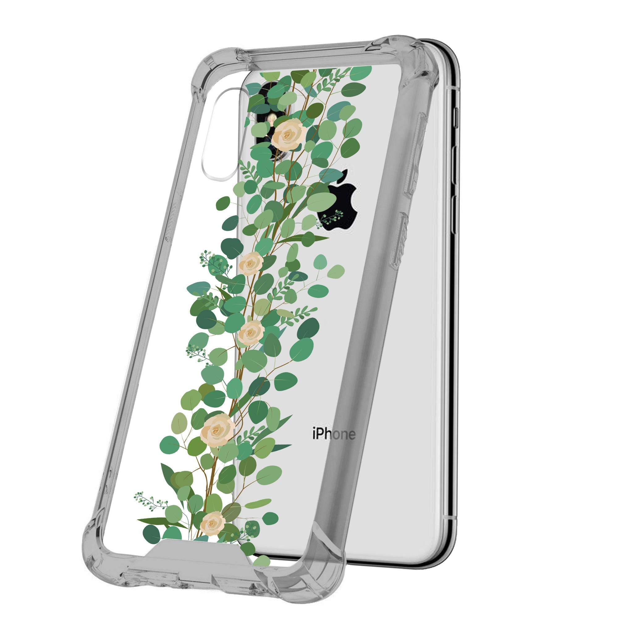 For-Apple-iPhone-Xs-Max-iPhone-Xs-Max-Black-TPU-Bumper-Case-Floral-Designs thumbnail 15