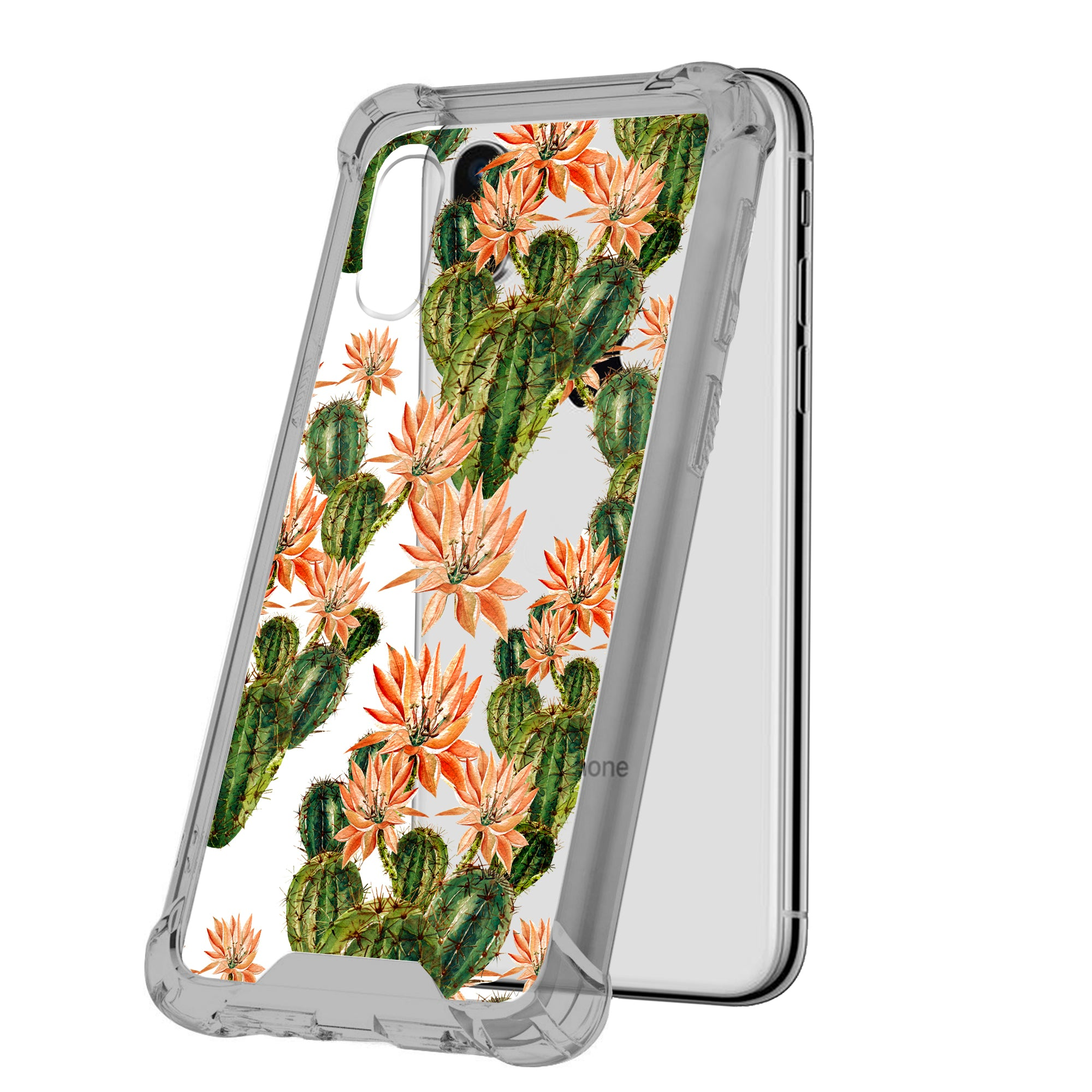 For-Apple-iPhone-Xs-Max-iPhone-Xs-Max-Black-TPU-Bumper-Case-Floral-Designs thumbnail 17