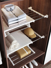 Retractable Shelf Partition