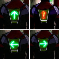 Atas Lifestyle Cycling Vest Lumen LED Turn Signal Vest