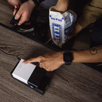 Atas Lifestyle Gadgets UK Plug / Black Lumipal Pocket Projector