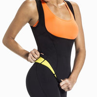 Atas Lifestyle Health And Beauty Yellow / S Neoprene Slimming Vest